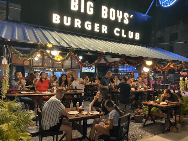 Big Boys' Burger Club