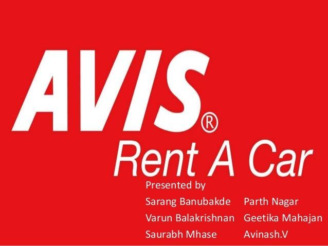 Avis Rent A Car