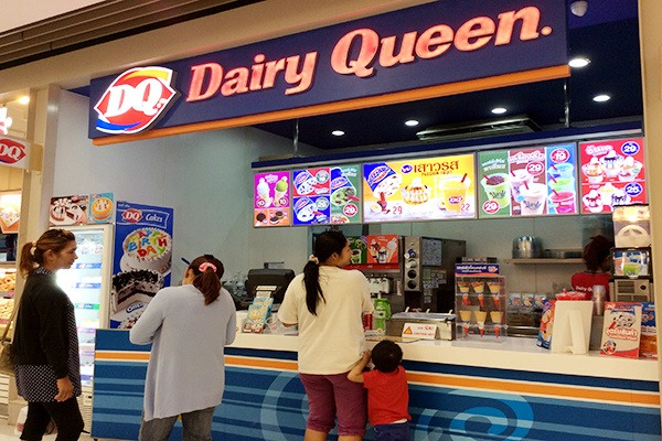 Dairy Queen at Central Festival Phuket
