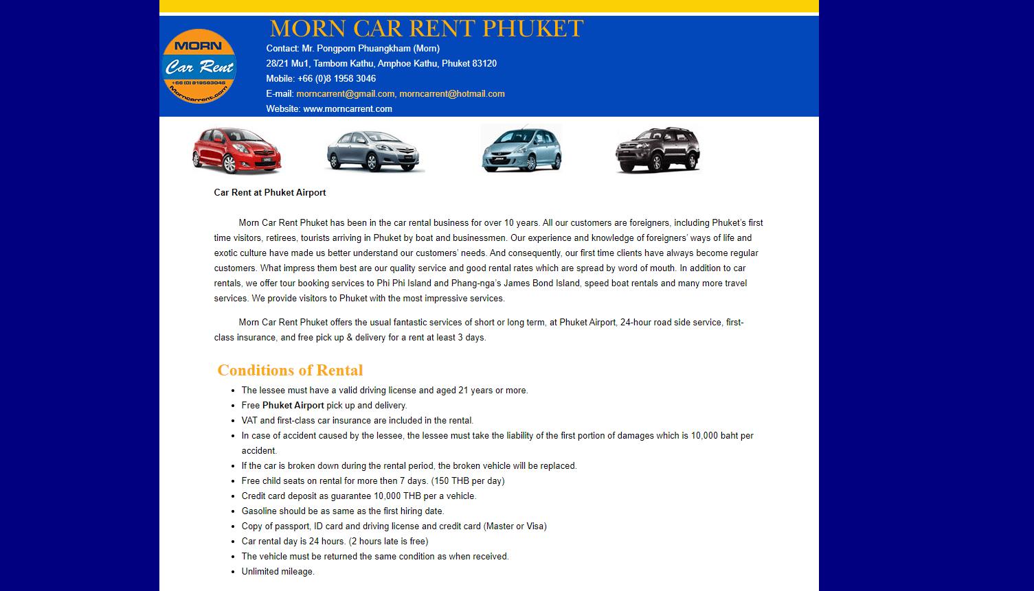 Morn Car Rent