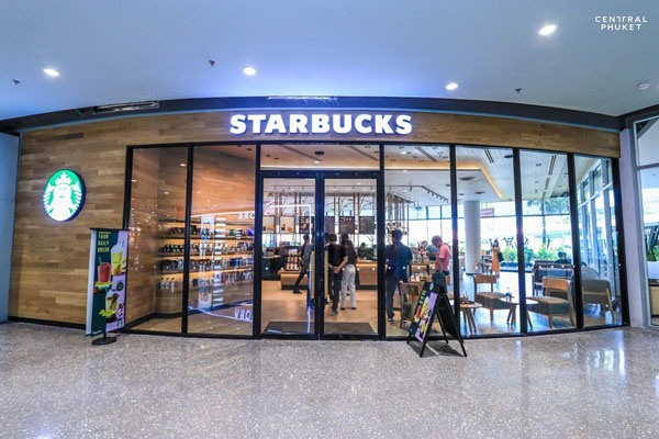 Starbucks at Central Festival Phuket