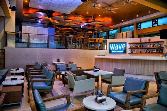 Wave Bar and Lounge at Henann Regency Resort & Spa