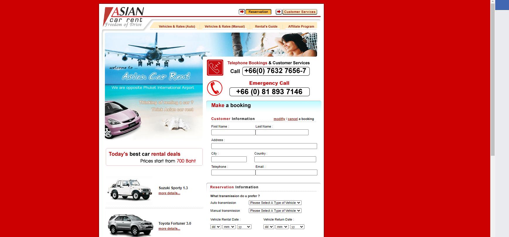 Asian Car Rent